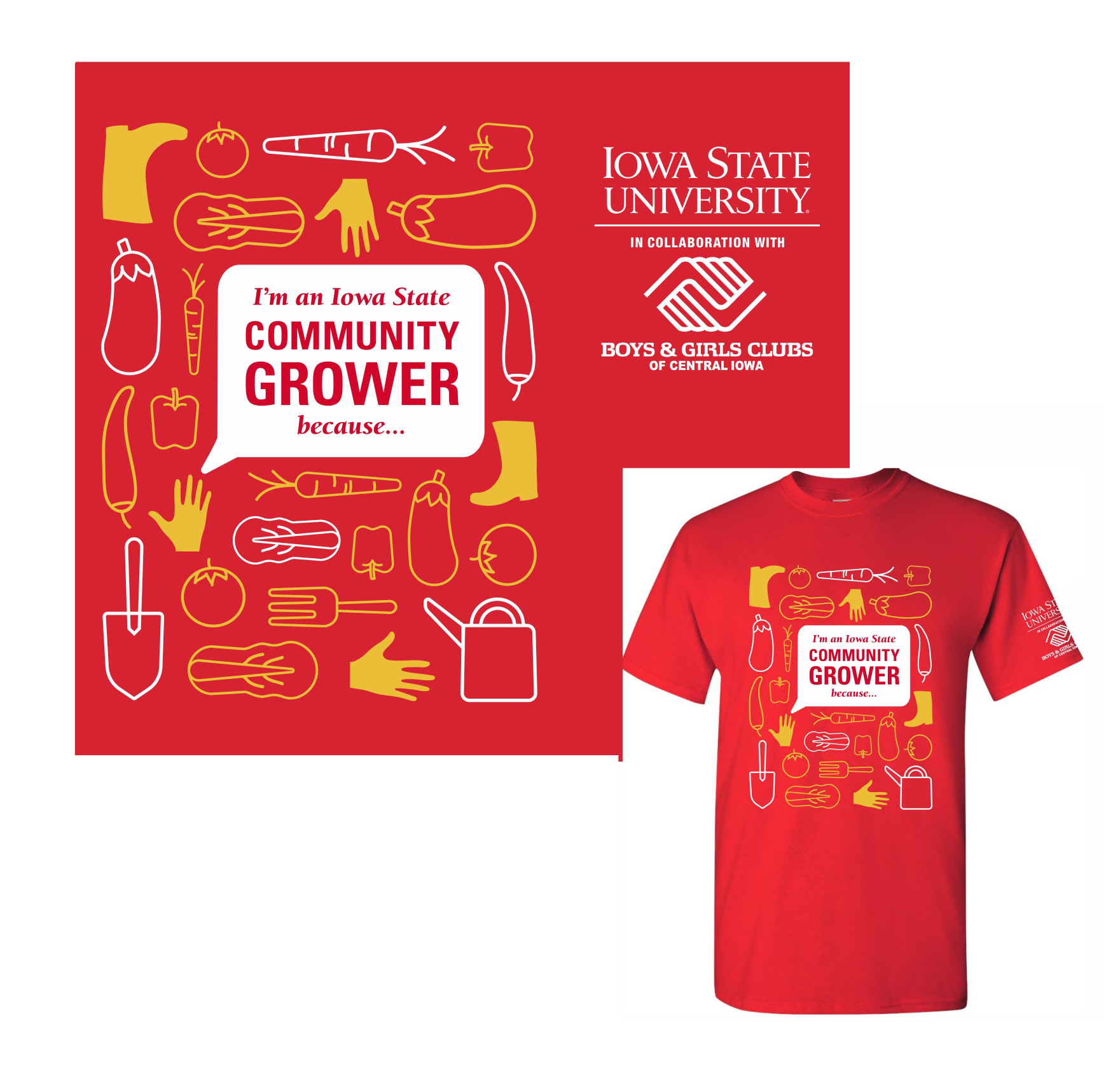Community Growers T - Shirts.